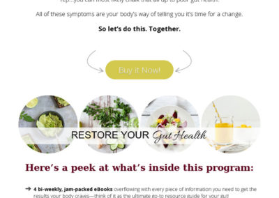 set up online program health coaching