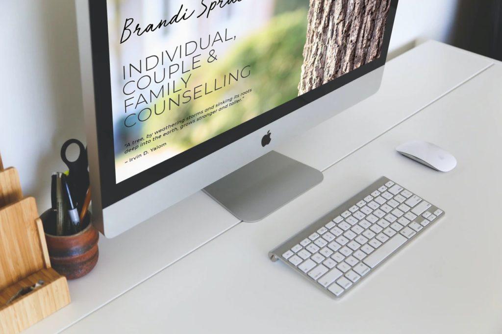website design for psychologist kemptville