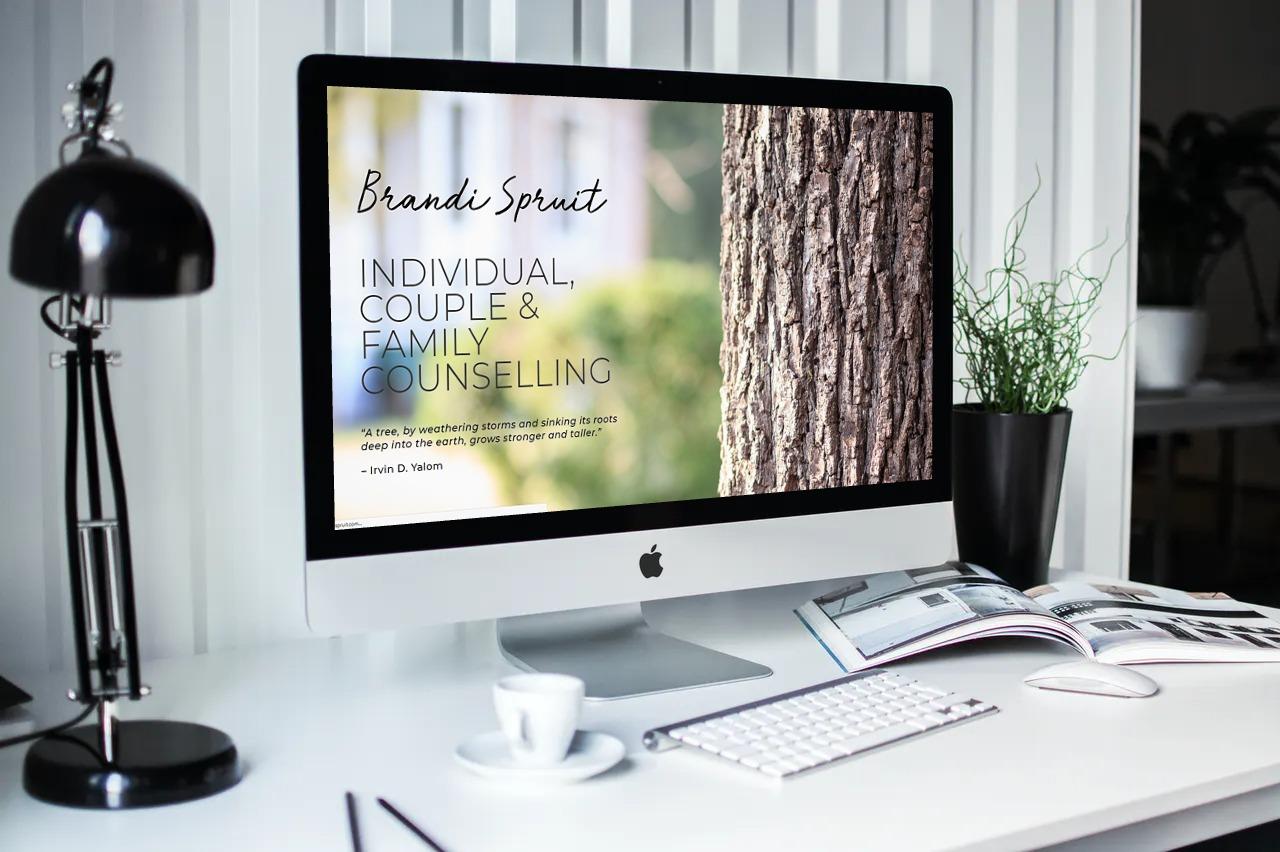 Brandi Spruit Website Development